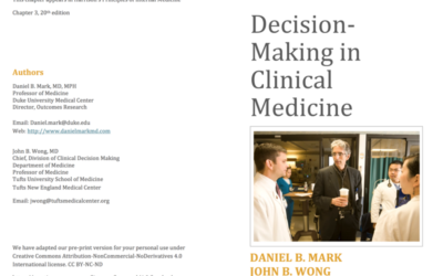 Decision Making in Clinical Medicine